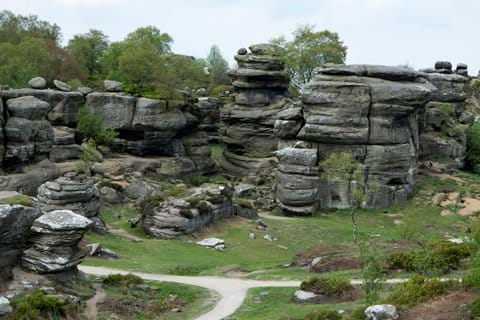 Brimham Rocks - a fabulous National Trust site nearby