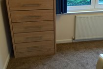Motherwell Self Catering  - Single bedroom, TV