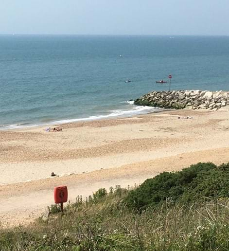 Coastal walk from Highcliffe on Sea to Mudeford - Hampshire