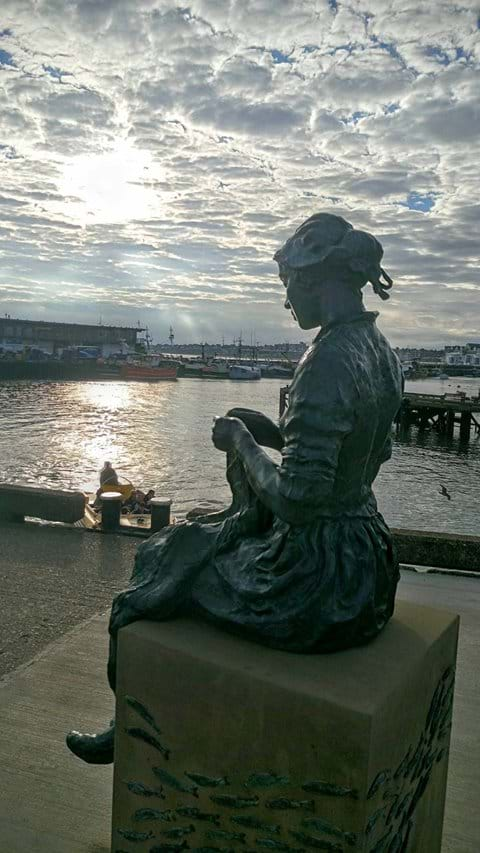 Gansey Girl - Bridlington