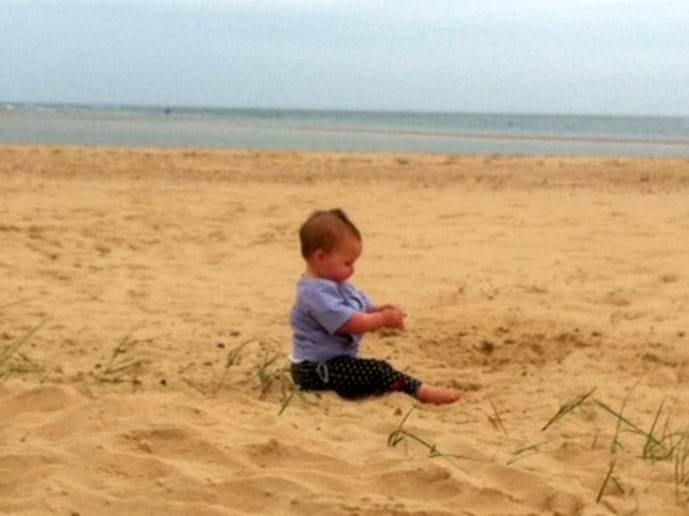 Holkham Beach is huge