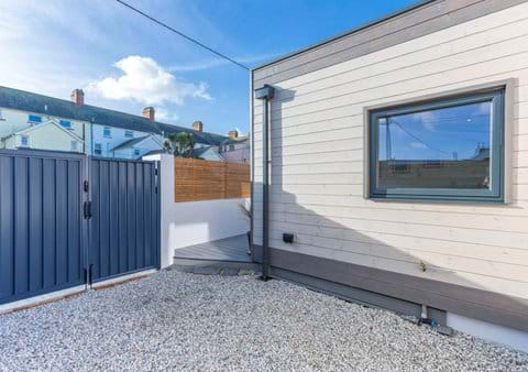Secure parking and enclosed outdoor space for your sole use