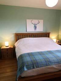 Hand made (frame and mattress) super king bed in master bedroom - New July