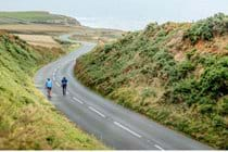 Enjoy cycling on our quieter roads