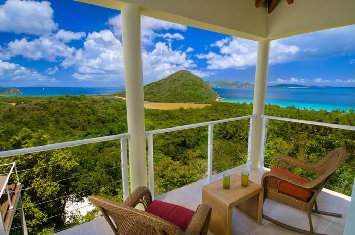 Master Balcony View