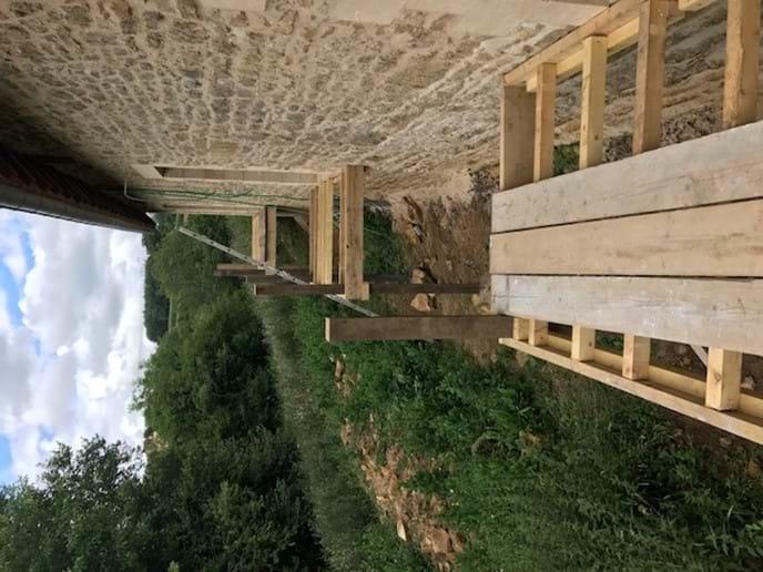 Gites - back balconies