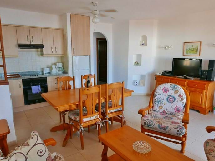 Open Plan Living Space - Villa 143