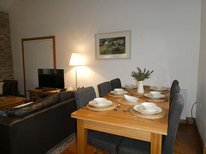 Plenty of space for family dining