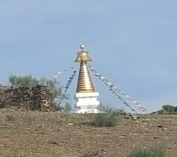 Buddhist retreat in nearby Trapiche