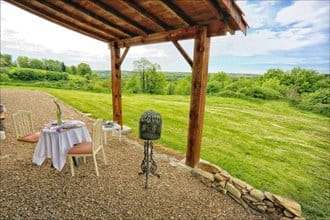 Valley views from your terrace