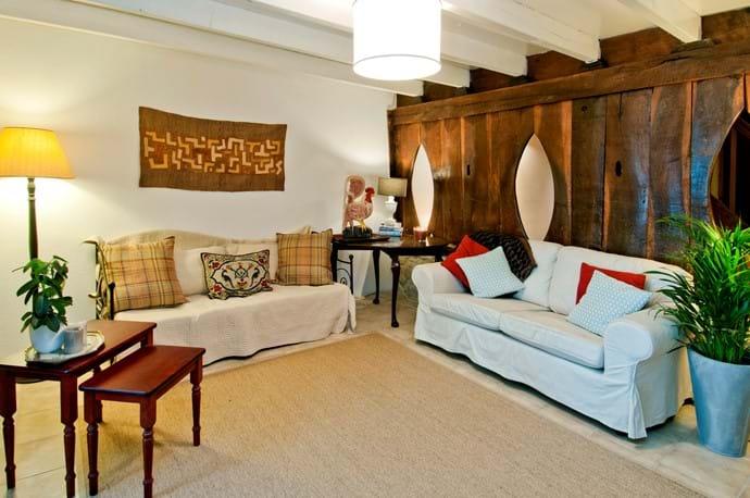 Living Room TV Room at La Petite Busaneth