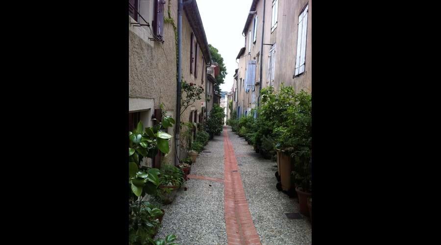Rue des Jardins, Montolieu