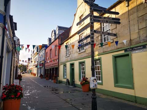 One Of The Quaint Streets In Stornoway