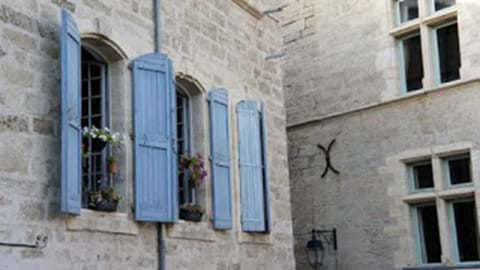 Medieval architecture adds to the atmosphere