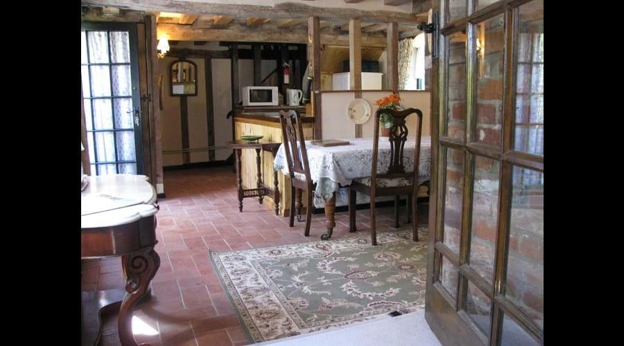pump cottage dining room