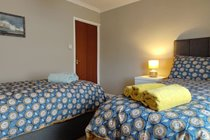 Main Bedroom - Single beds can be joined together on request to make a king size double.