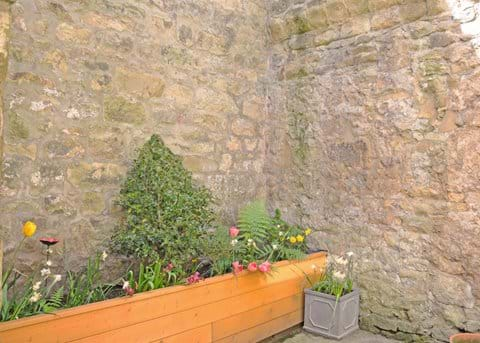 Outdoor area, Sentry Cottage, Alnwick
