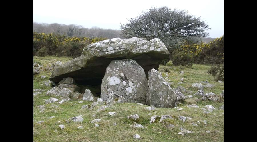 Neolithic burial chamber nearby
