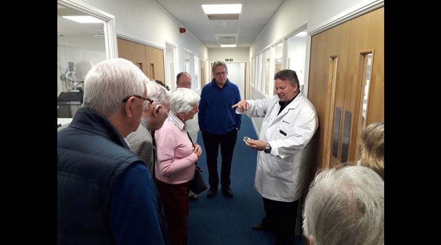 Initiative visit to Contamac in Shire Hill, Saffron Walden on 11 April 2019