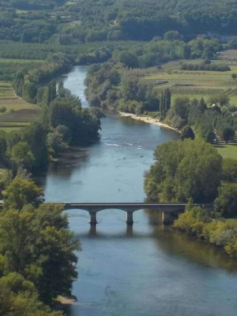 View of the River Dordogne at Domme