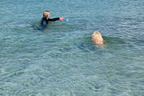 Swimming lessons, Bernera