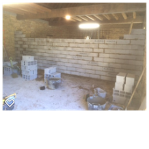 Dividing wall for the 2 barns