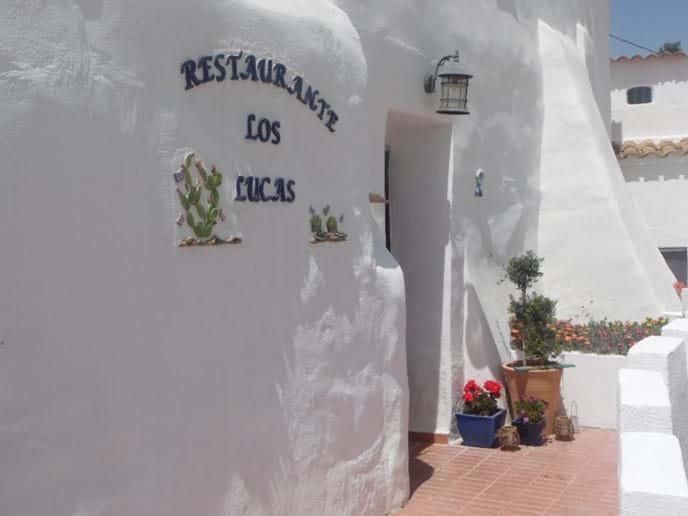 Entrance to the Restaurante.