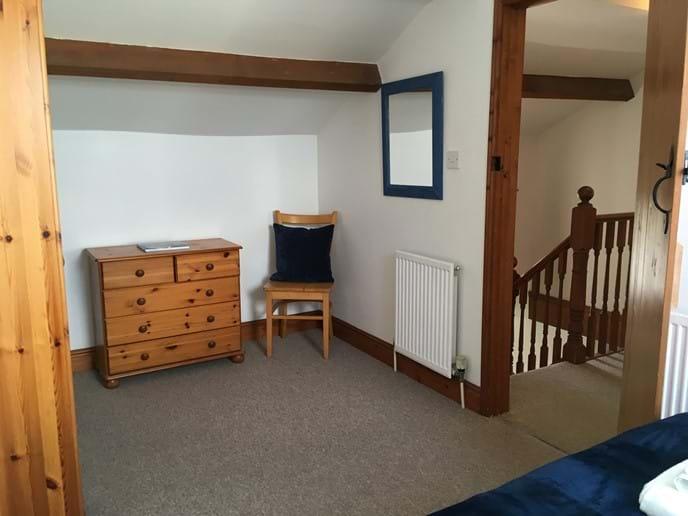 Lots of space in bedroom 2