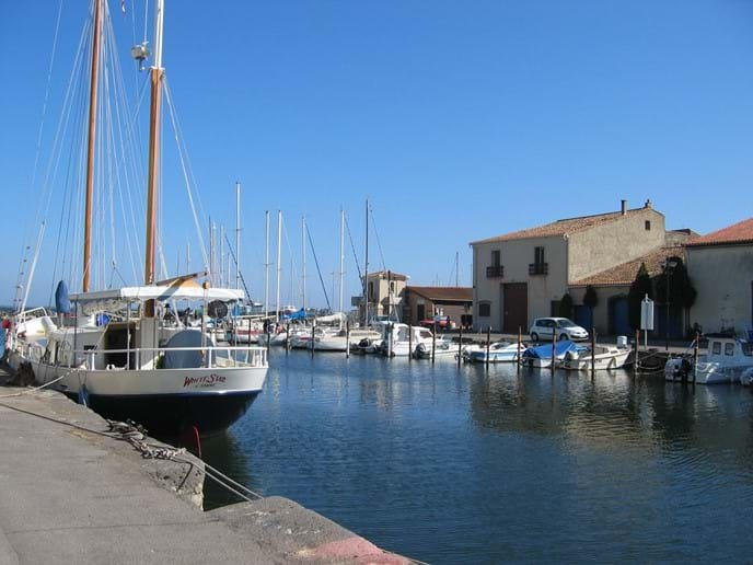 Marseillan Port just by the accommodation