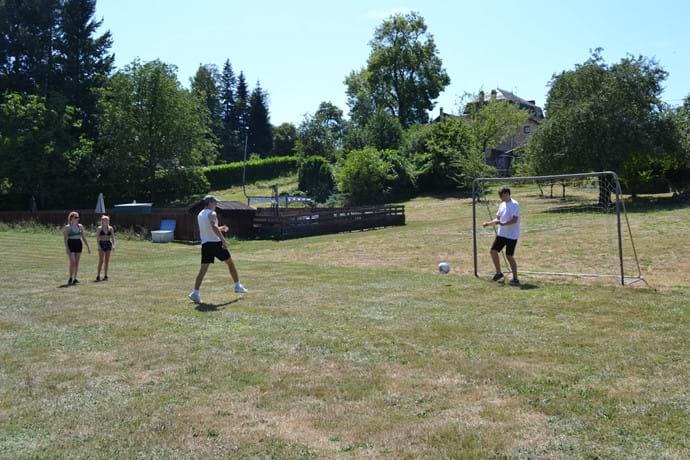 Football, basketball, badminton - give them all a go!