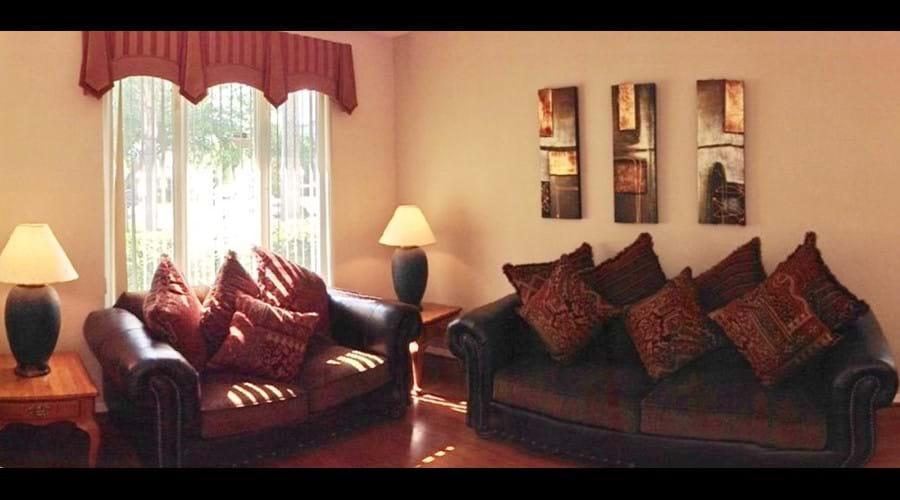 Lounge Room - Two large sofa