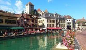 Chamonix town centre