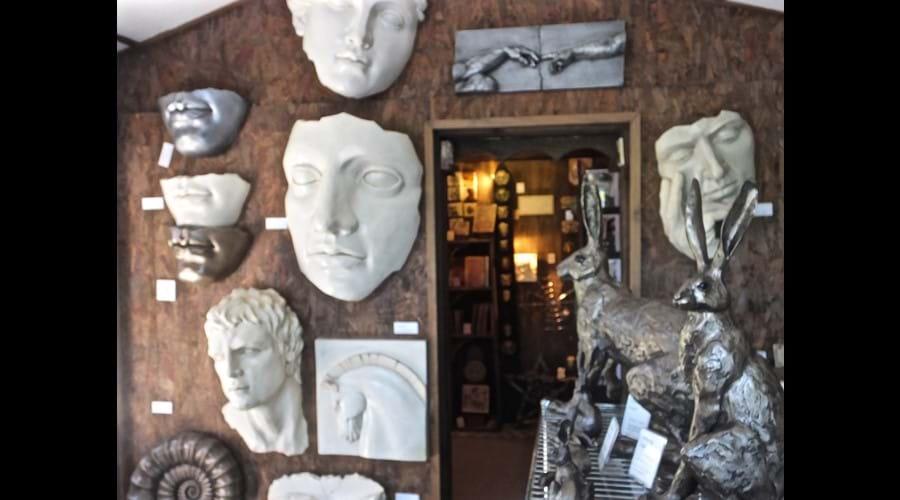 Sculpture Haven shop.