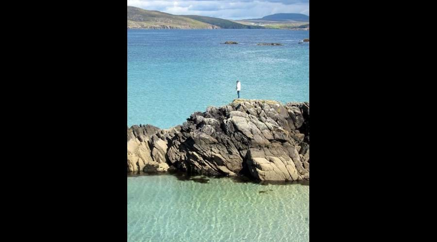 Turquoise water, Little Bernera