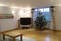 Front room during Xmas