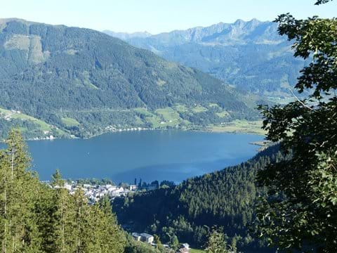 Zell am See from Schmittenhohe