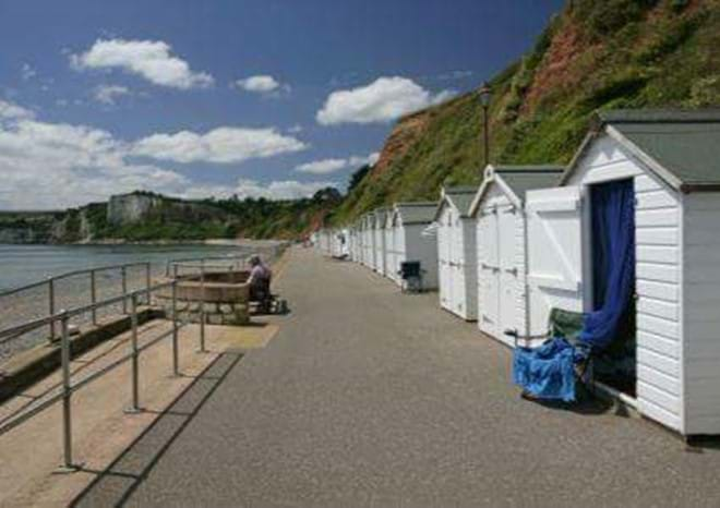Beach Huts at Seaton