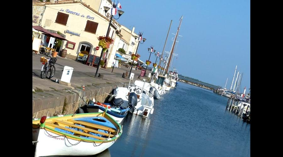 Welcome to Marseillan Port