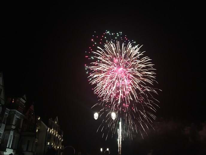Sidmouth Firework Display