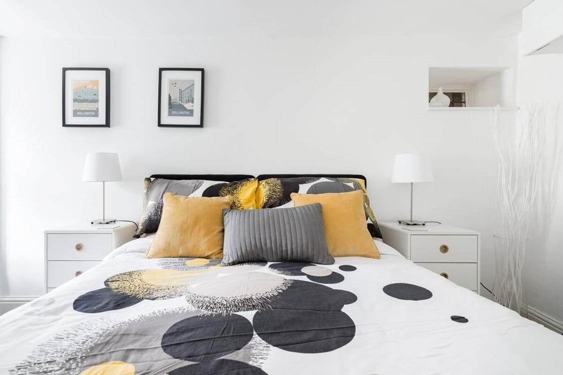 Rear Bedroom as a double