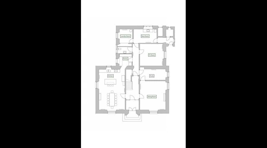 Balgedie House Downstairs Floor Plan