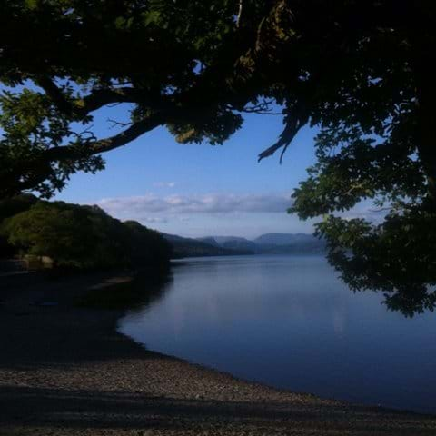 Summer evening on Coniston Water.