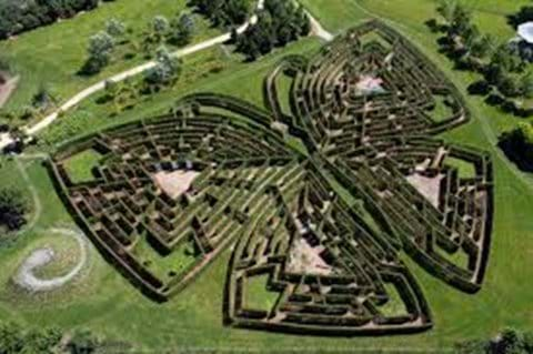 The Gardens of Colette and her giant maze