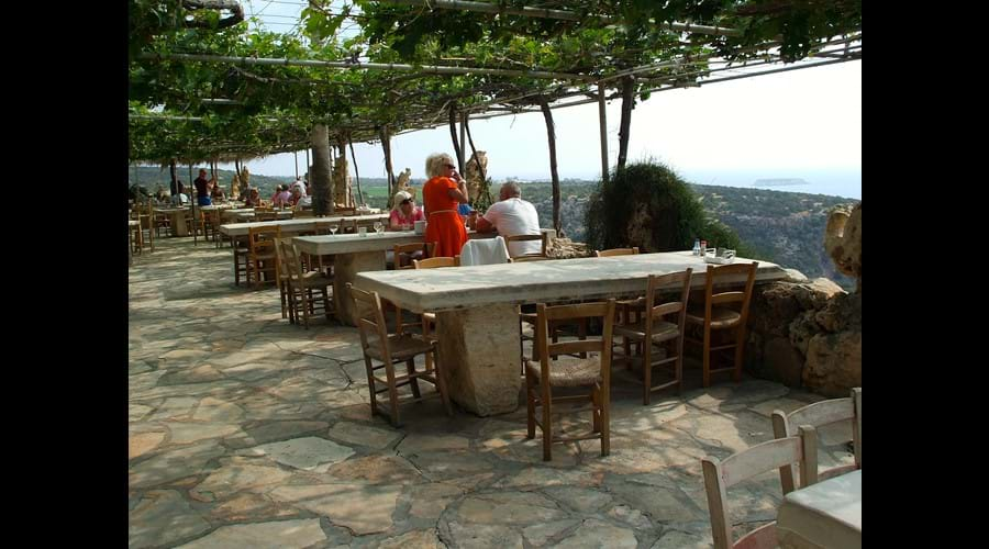 Enjoy at real Cypriot barbecue at Viklari (The Last Castle) and take in the glorious views