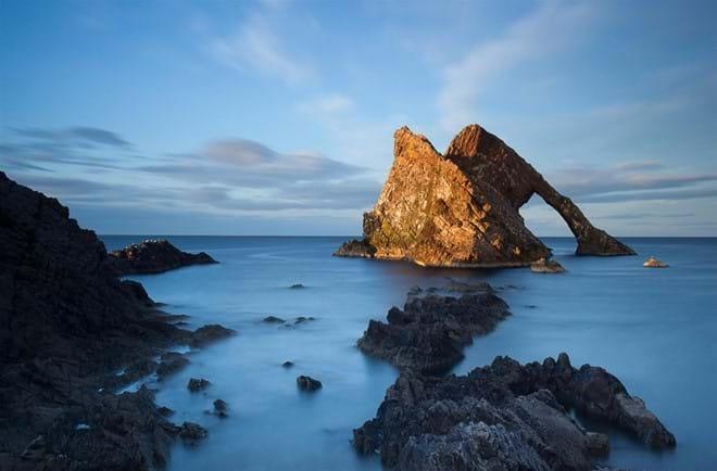 Bow Fiddle Rock (Near Porknockie AB56 4NL)