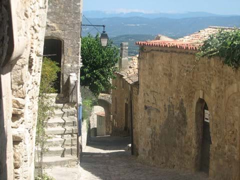 Lacoste - pretty Luberon village