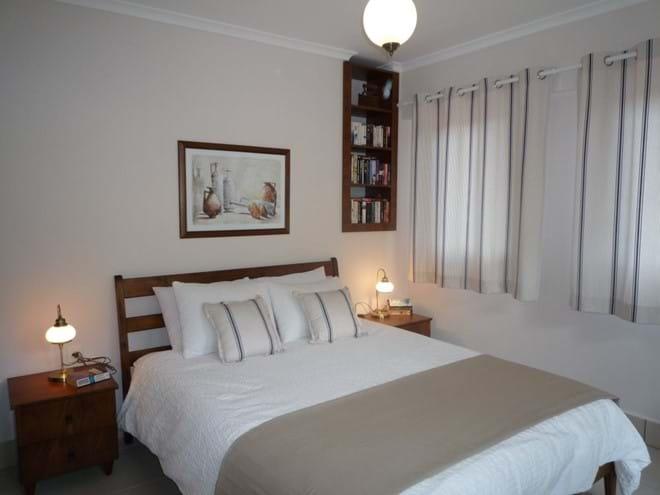 Double bedroom, en-suite and balcony