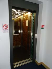 Lift From Car Park to Apartments