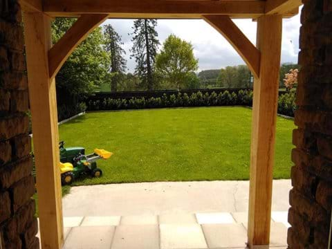 Stunning View from Kitchen - Moo Cow Cottage accommodation