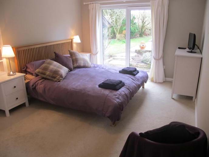 Coastal Path Cottage main bedroom